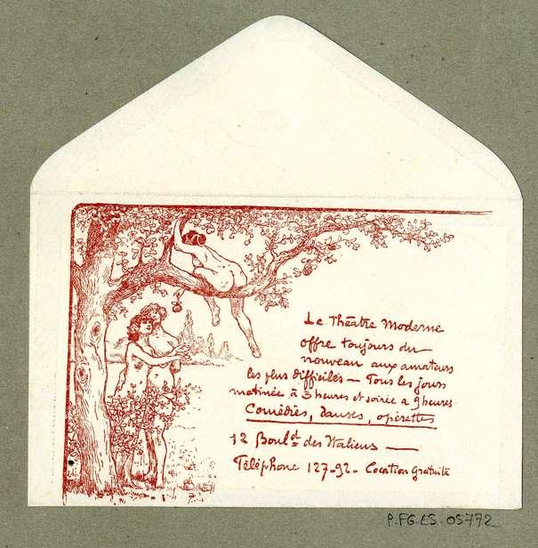 Contenu du Les publicités théâtrales de Georges Goury