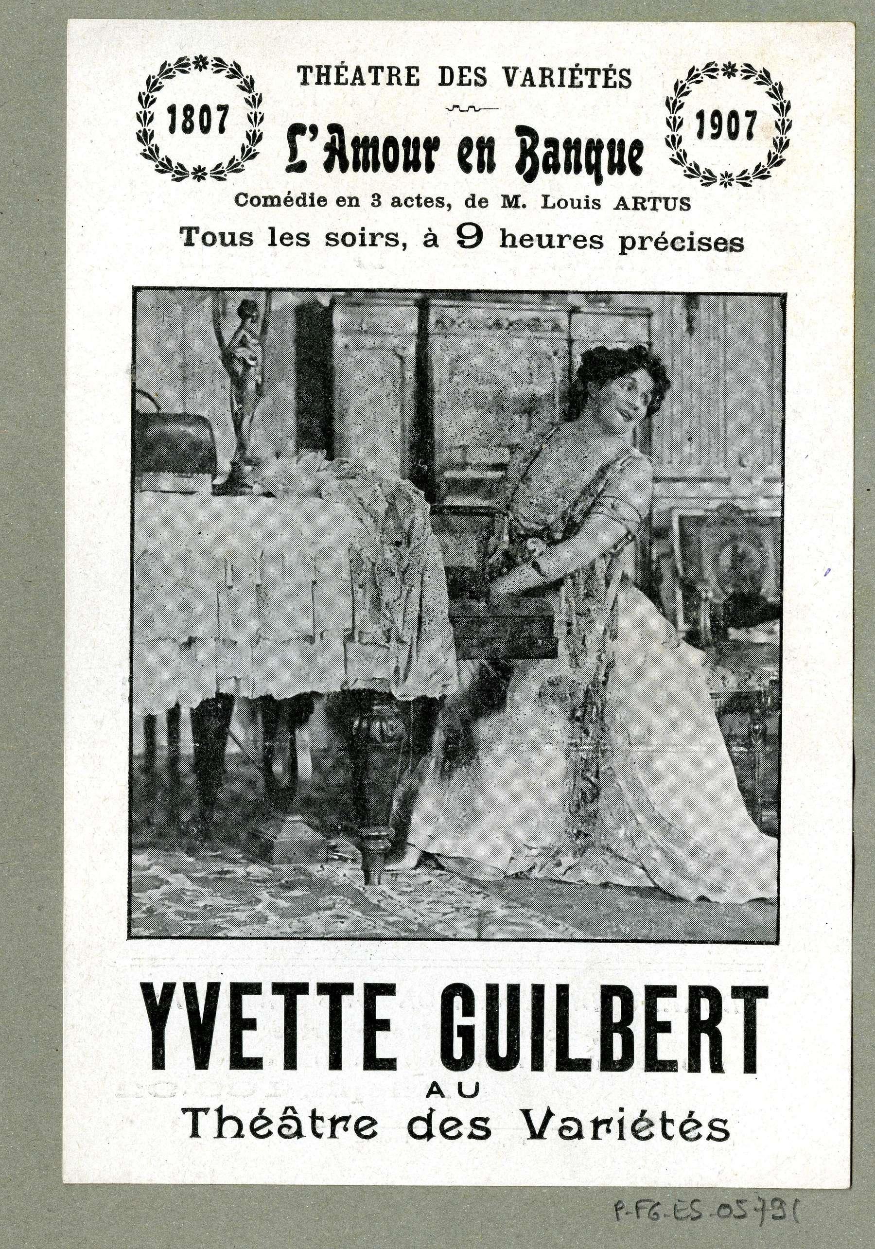 Contenu du Yvette Guilbert