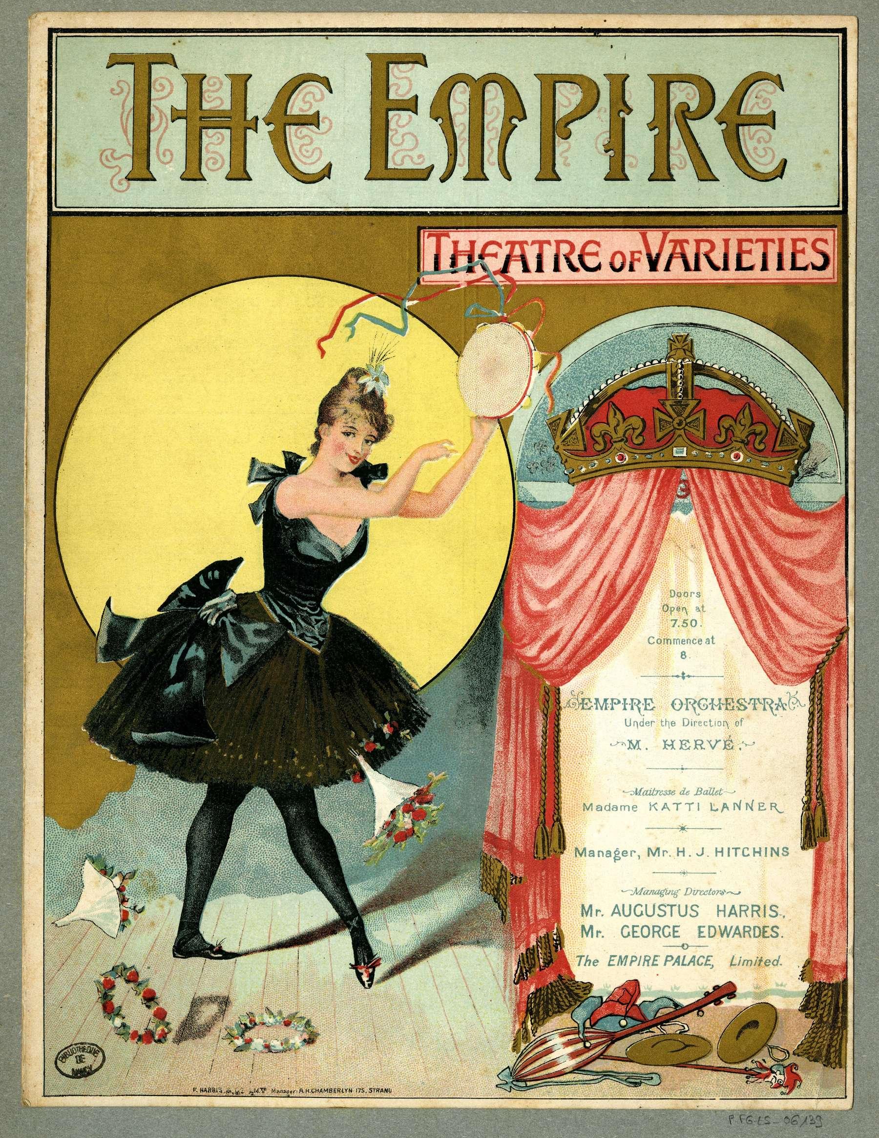 Contenu du Le Théâtre des Variétés