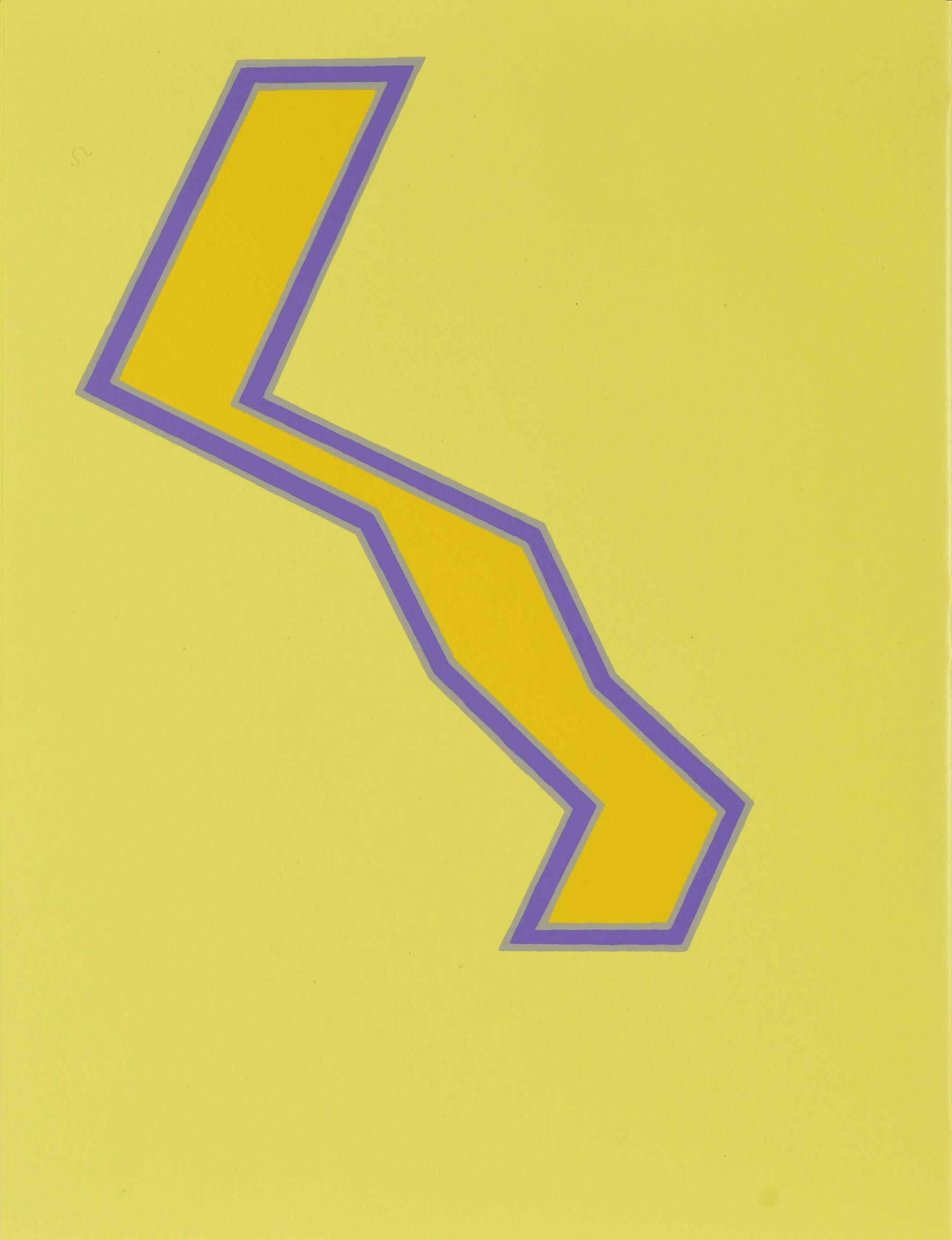 Contenu du Formes géométriques sur fond jaune