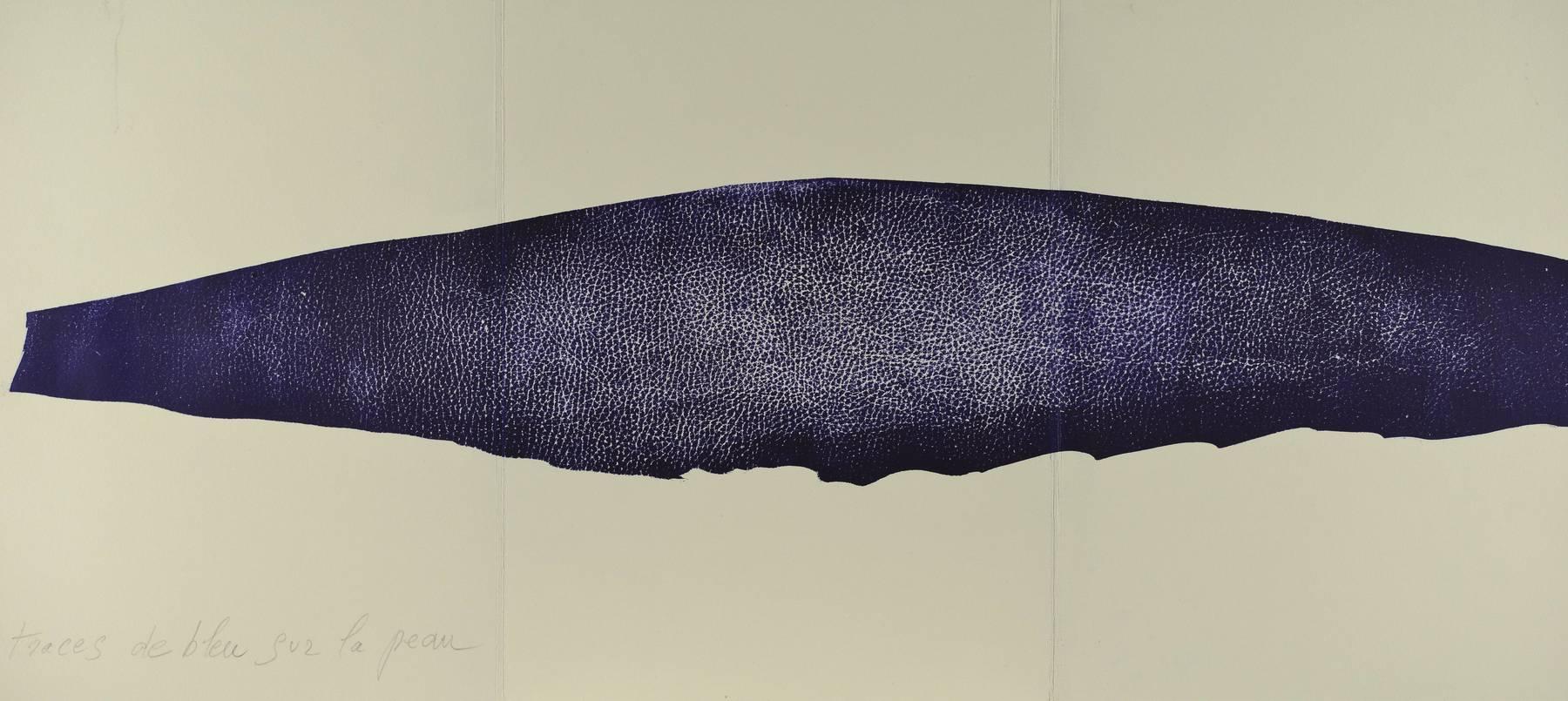 Contenu du Traces de bleu sur la peau, Jean-François sur la peau
