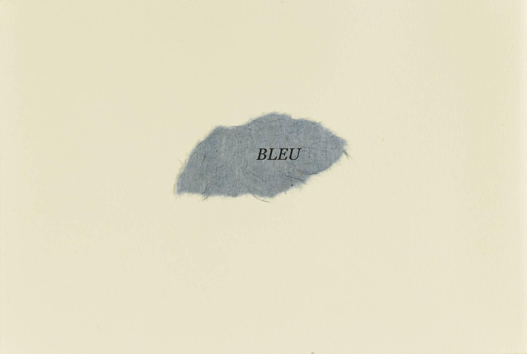 Contenu du Bleu, Frédérique Le Lous Delpech