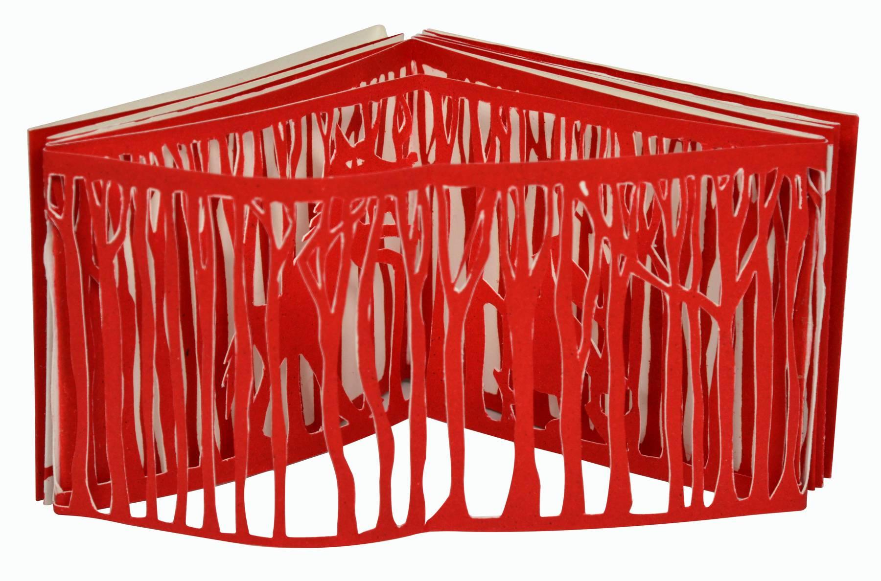 Contenu du Livre d'artiste - Le Petit Chaperon rouge dans la forêt