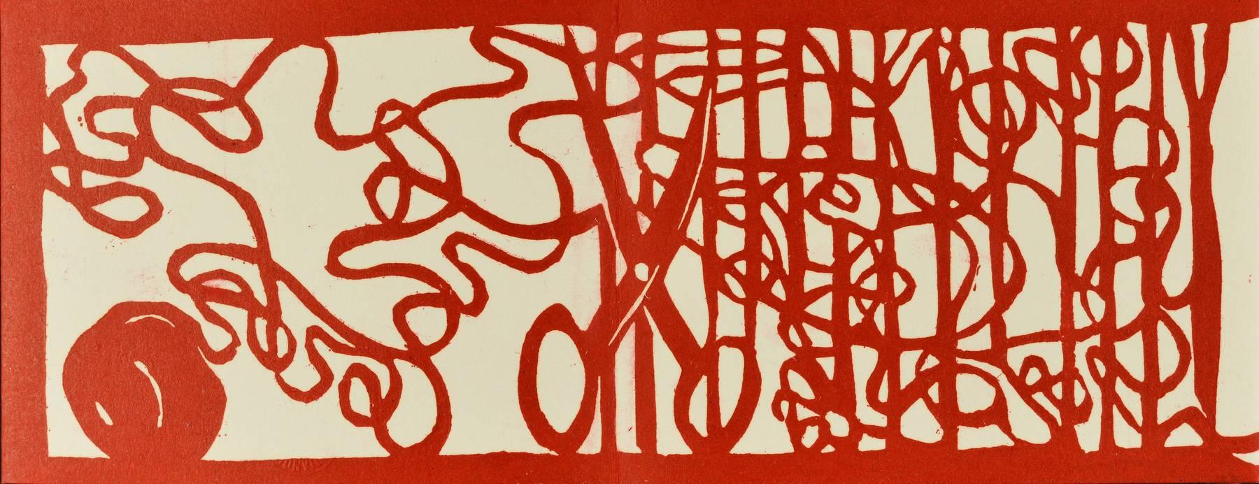Contenu du Livre d'artiste - Le panier du Petit Chaperon rouge
