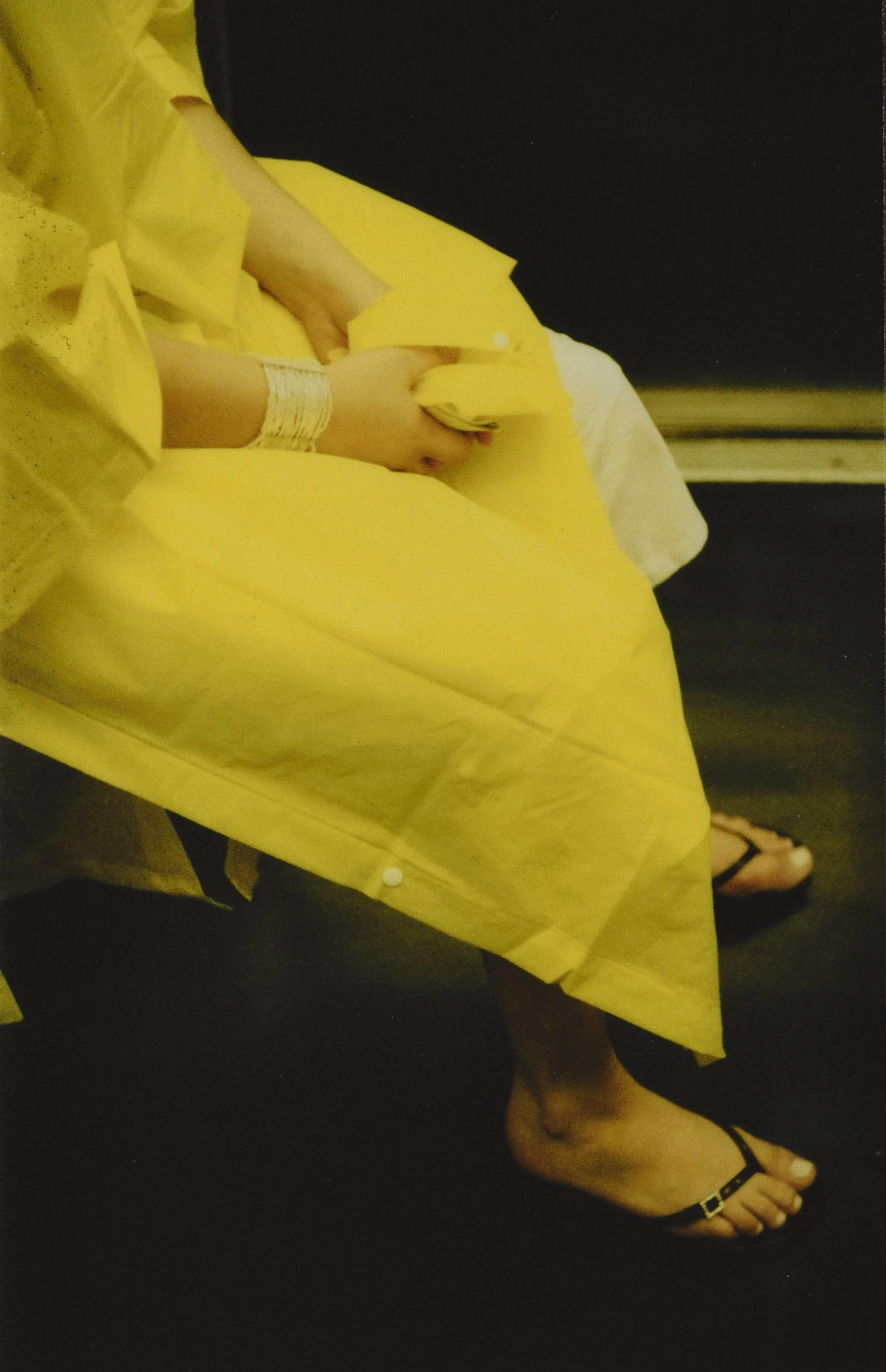 Contenu du Une femme en jaune