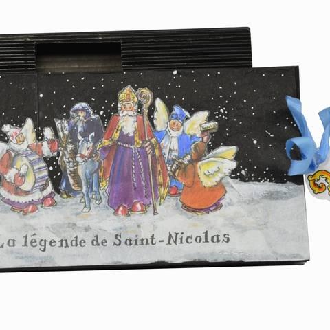 Contenu du Saint Nicolas et Père Fouettard