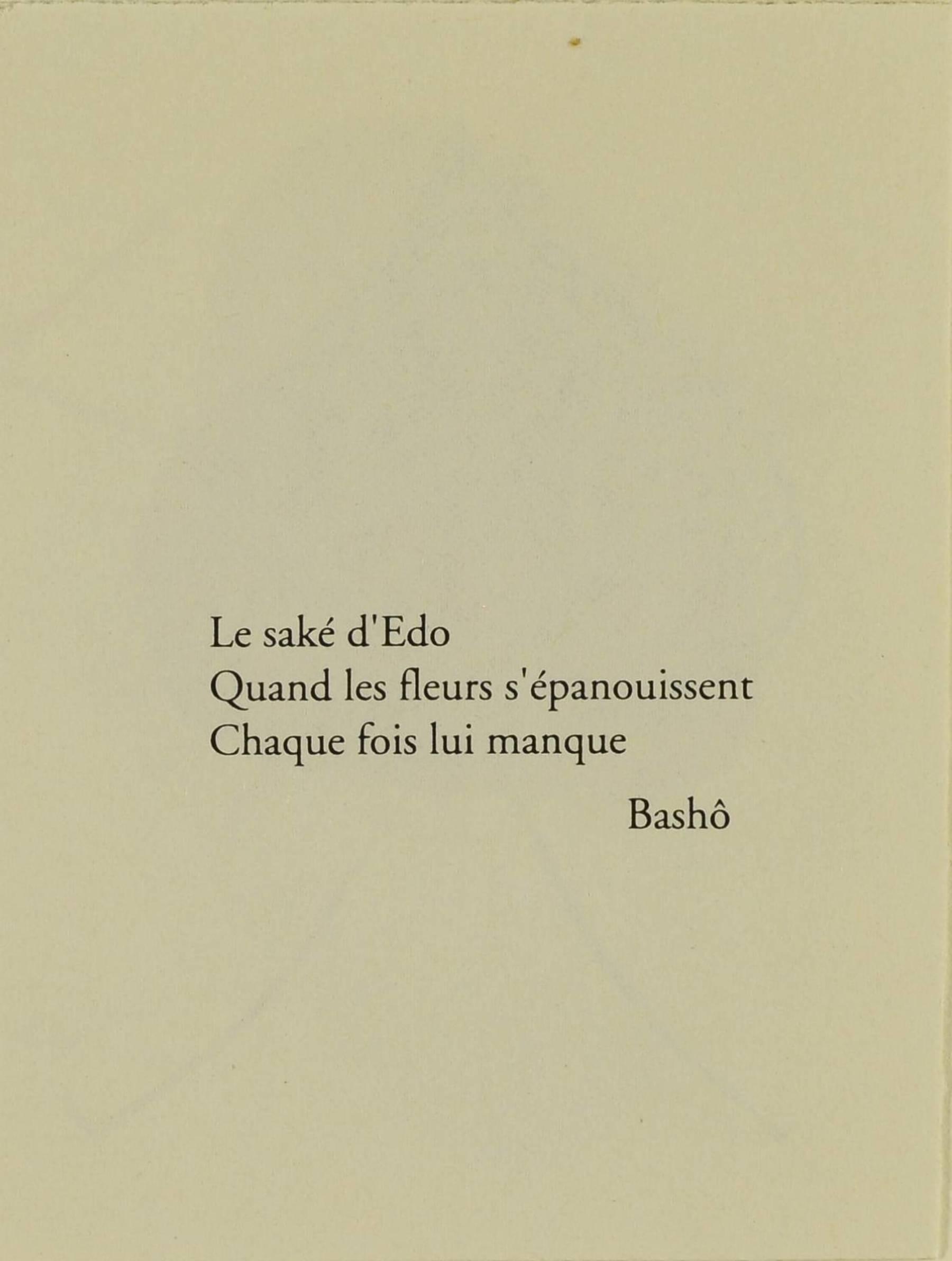 Contenu du Le Saké d'Edo