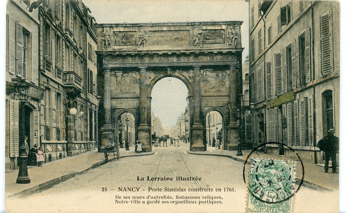 Contenu du La porte Saint-Stanislas