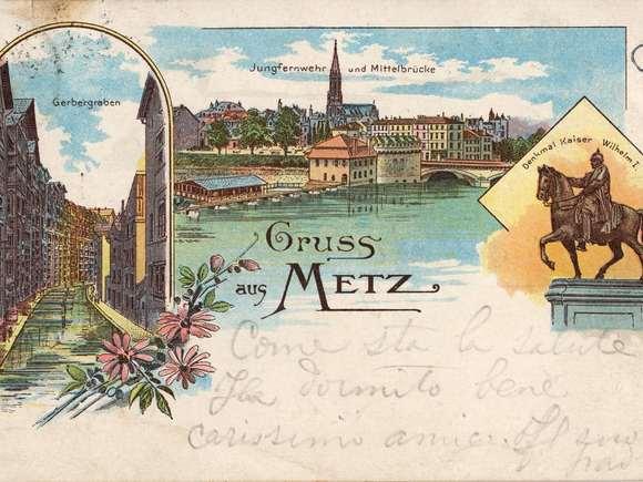Contenu du Les statues de Metz