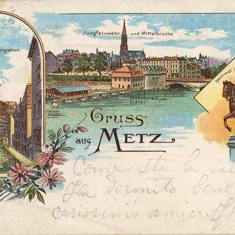 Les statues de Metz