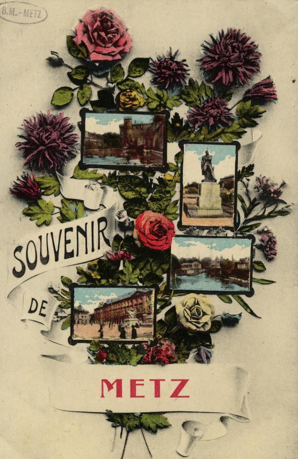 Contenu du Cartes postales fantaisies de Metz