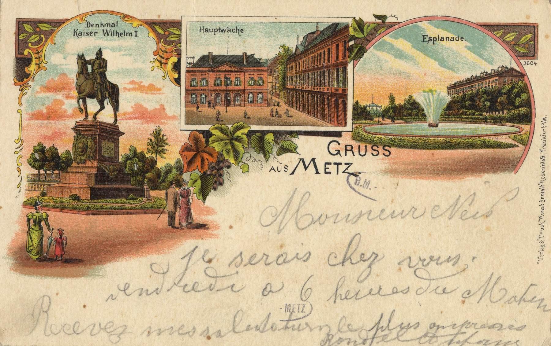 Contenu du Gruss aus Metz