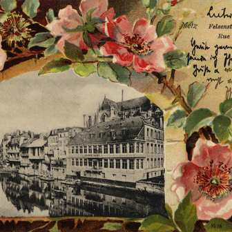 Cartes postales fantaisies de Metz