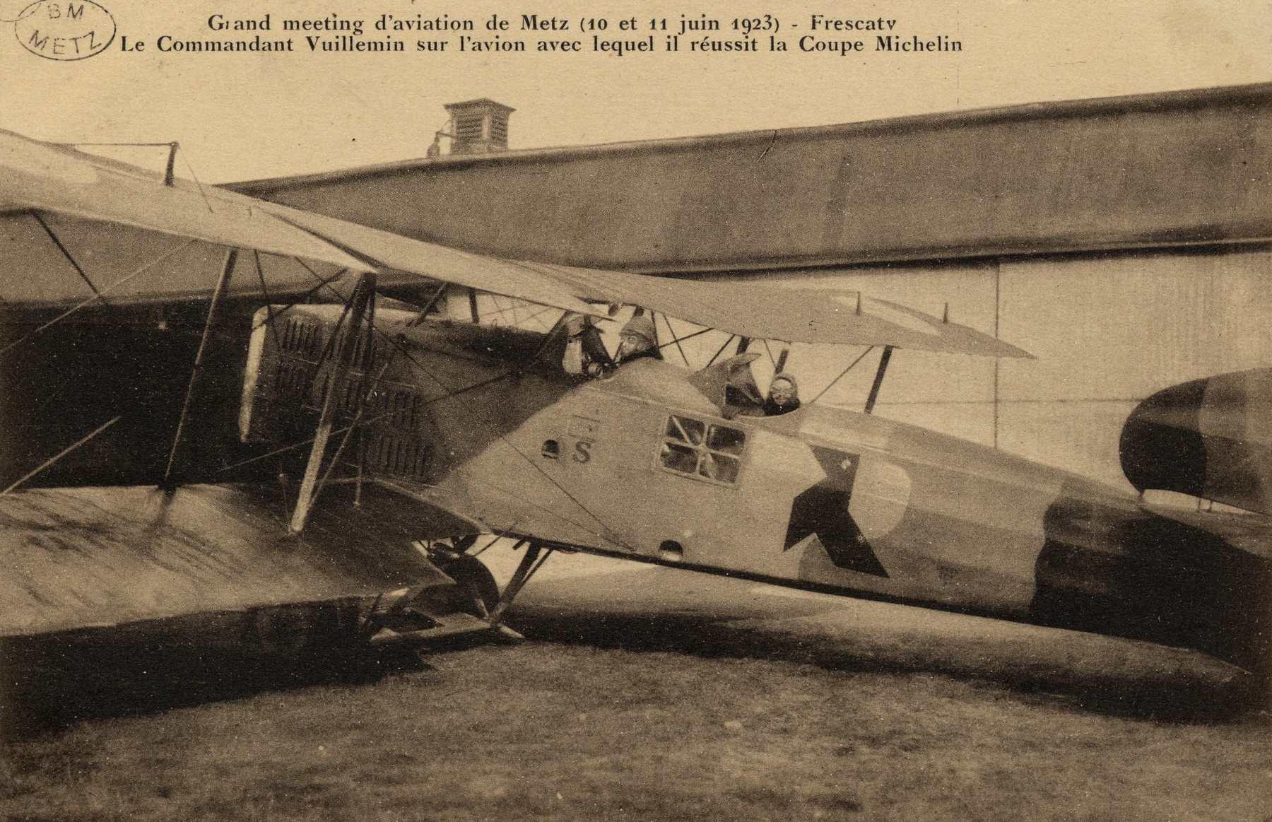 Contenu du Grand meeting d'aviation de Metz (10 et 11 juin 1923)- Frescaty