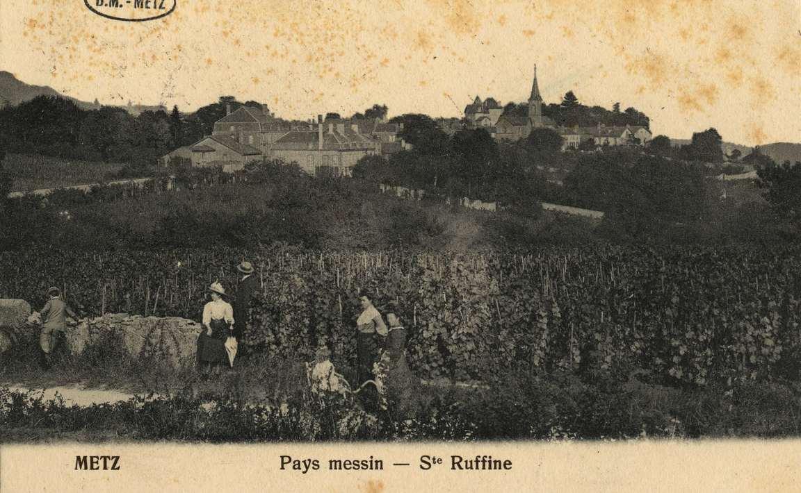 Contenu du Metz Pays messin- Ste Ruffine