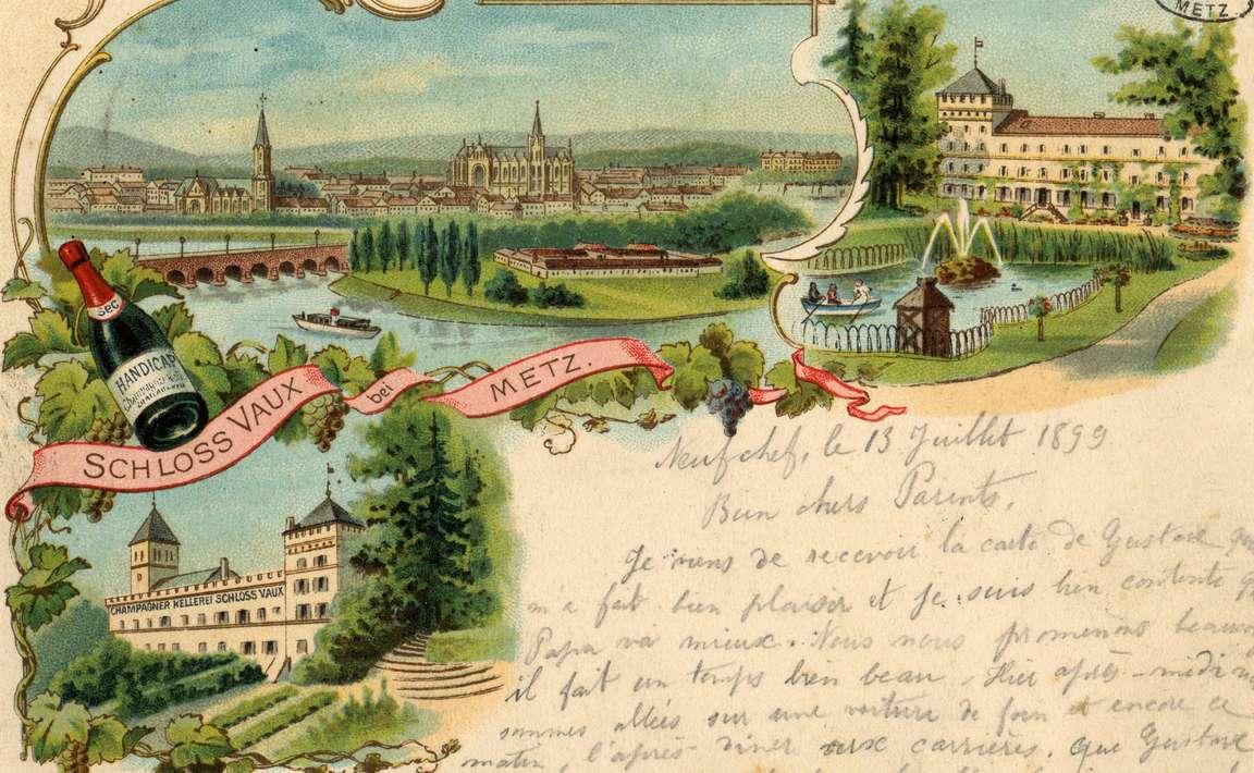 Contenu du Schloss Vaux bei Metz.