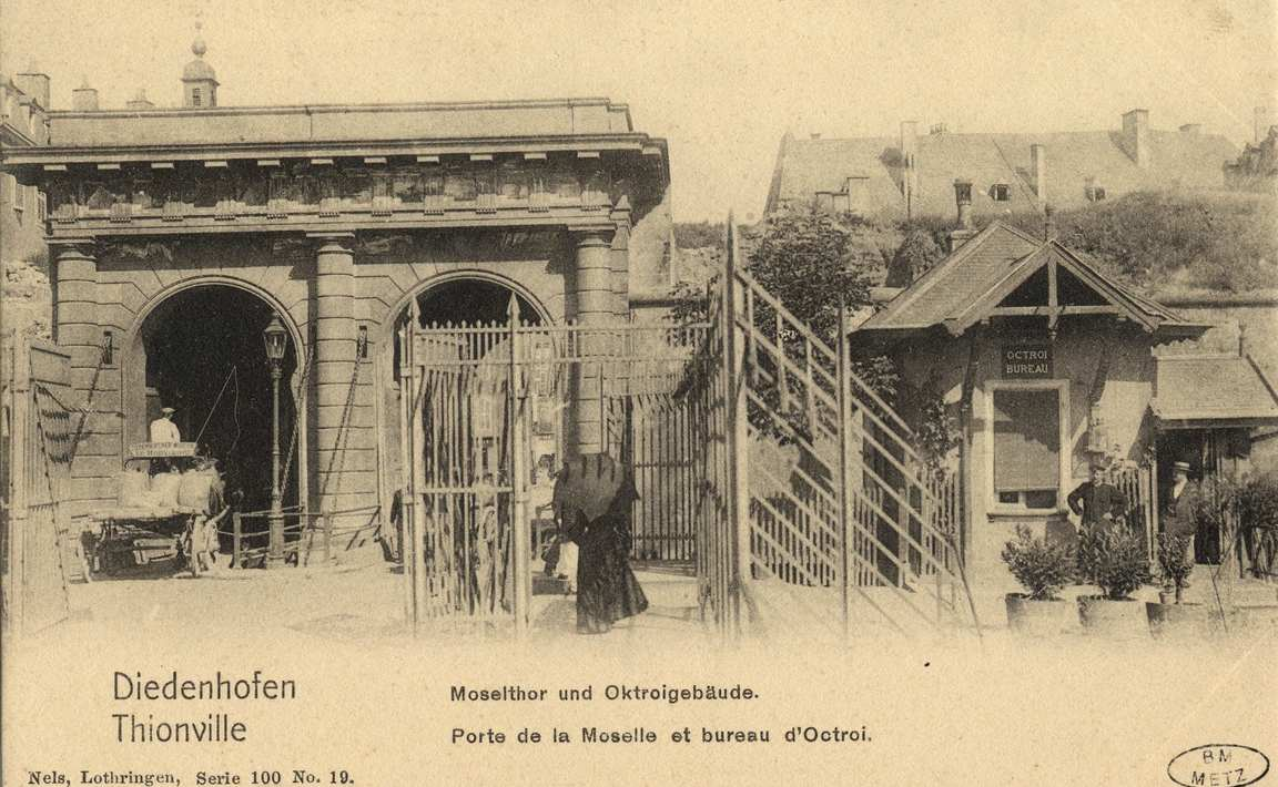 Contenu du Thionville : porte de la Moselle