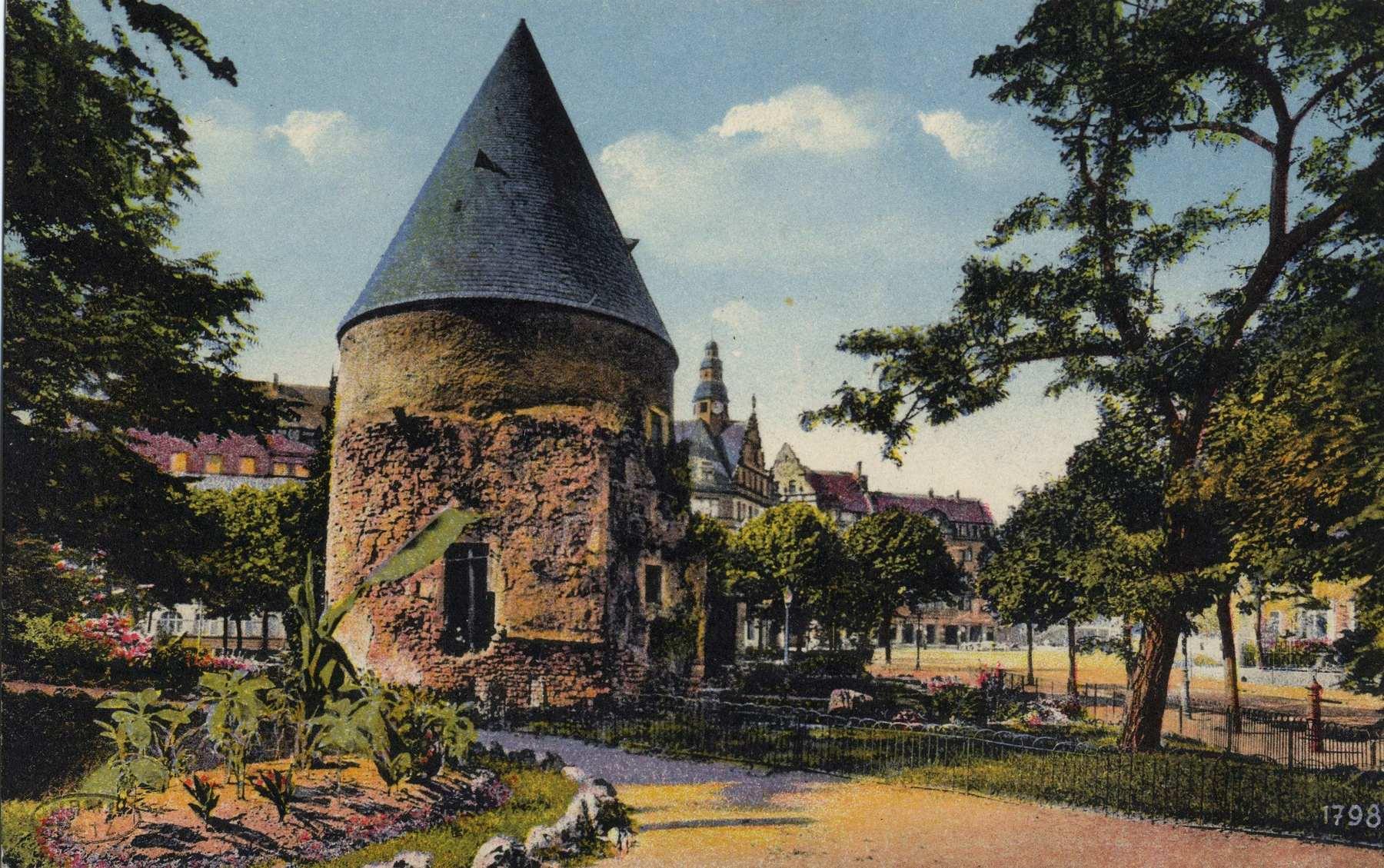 Contenu du La tour Camoufle à Metz