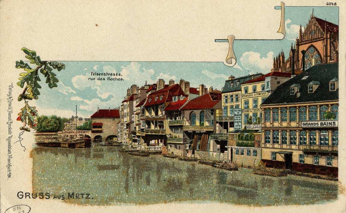 Contenu du Metz. Rue des Roches