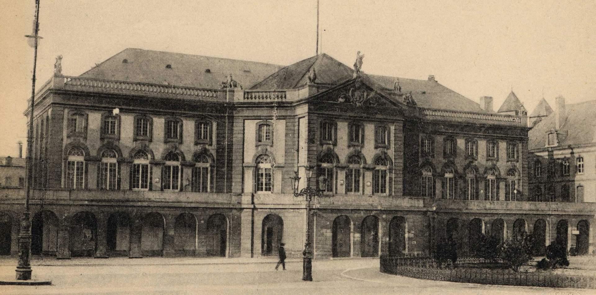 Contenu du L'Opéra-théâtre de Metz: un des premiers théâtres construits en France !