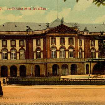 L'Opéra-théâtre de Metz: un des premiers théâtres construits en France !