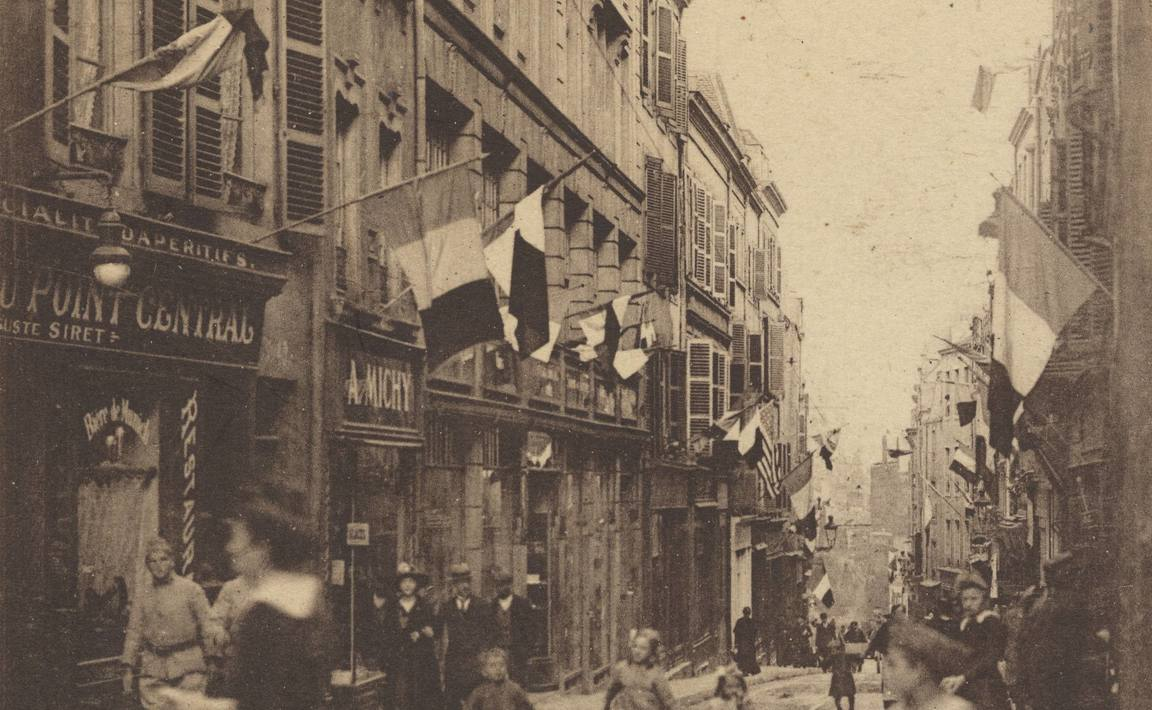 Contenu du Metz. Rue Fournirue