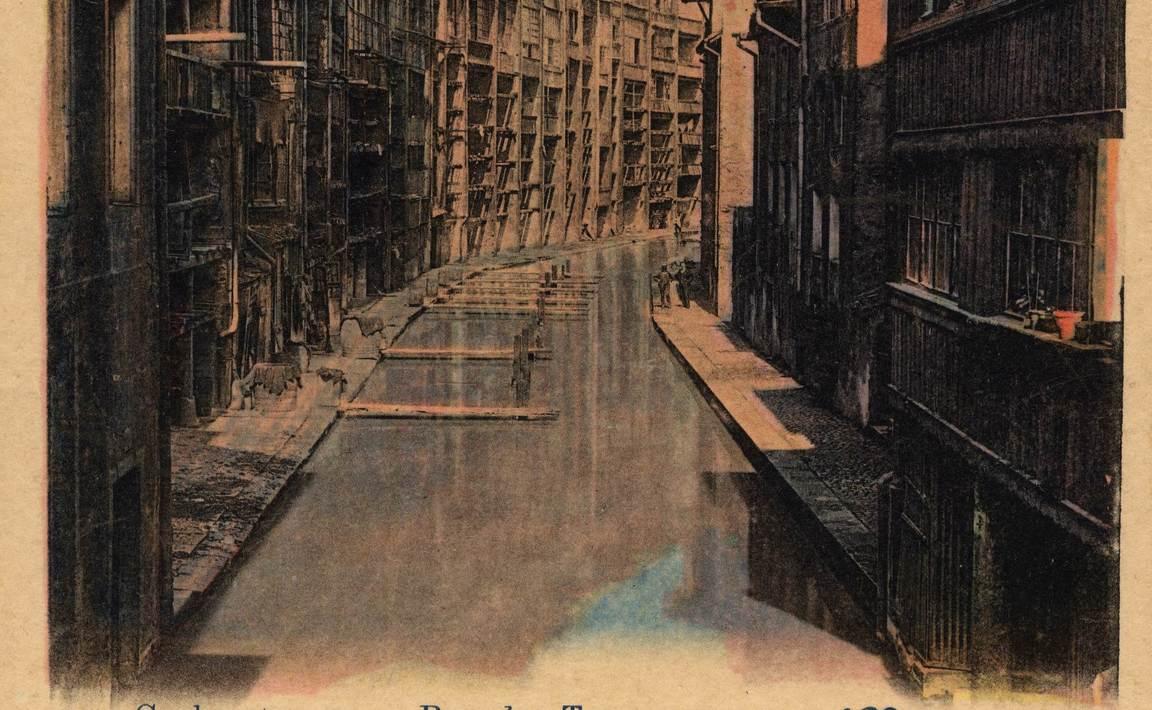 Contenu du Metz. Rue des Tanneurs