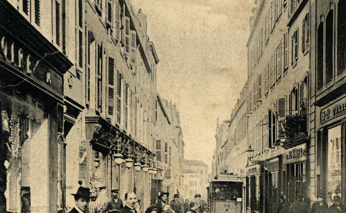 Contenu du Metz. Rue des Jardins
