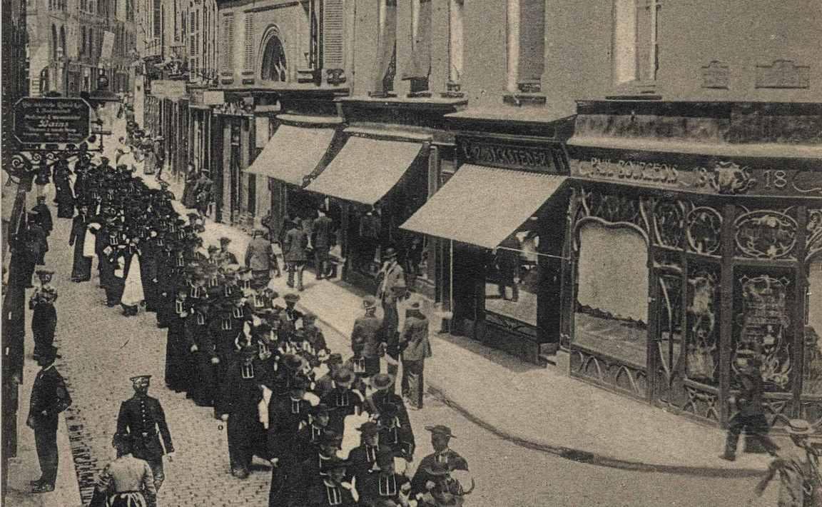 Contenu du Metz. Rue de la Tête-d'Or