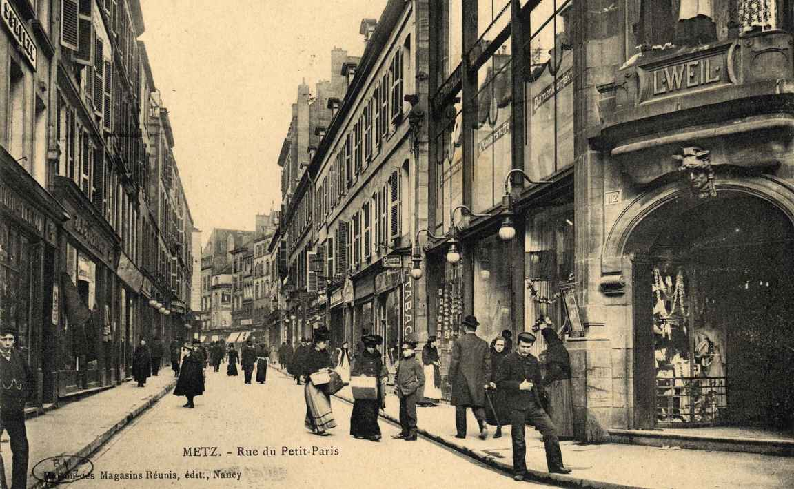 Contenu du Metz. Rue du Petit-Paris