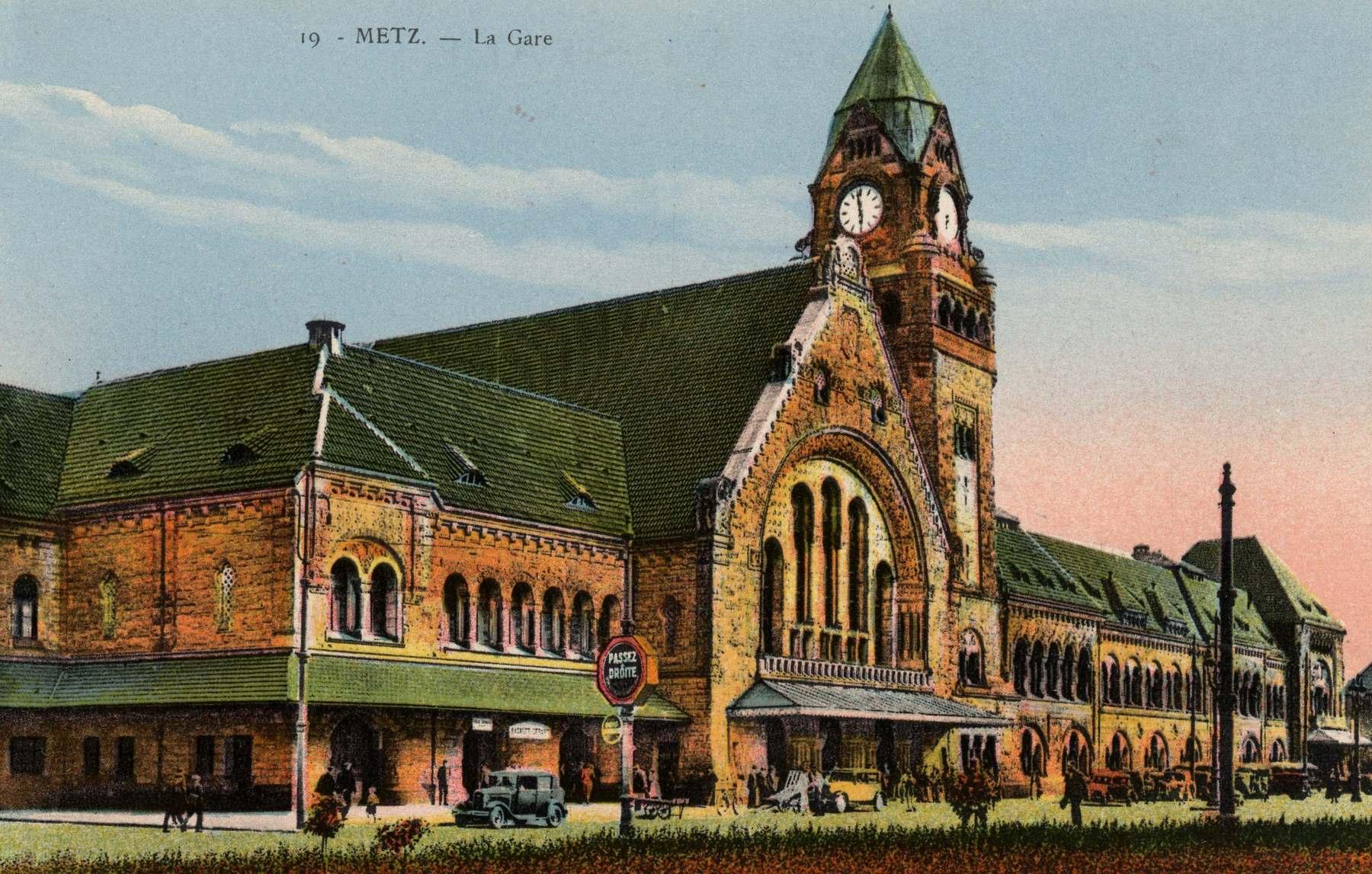 Contenu du Metz. La Gare