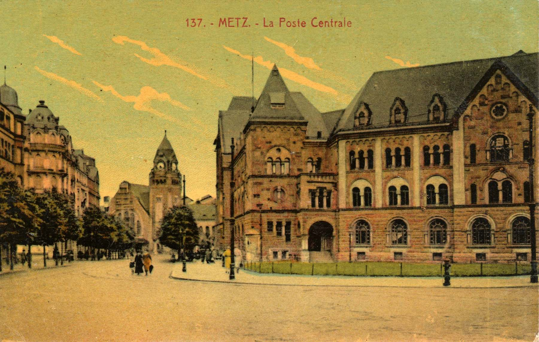 Contenu du Metz. La Gare centrale