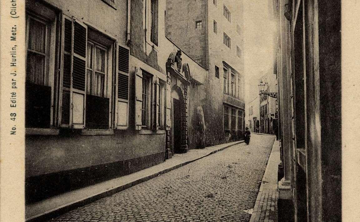 Contenu du Metz. Rue des Trinitaires