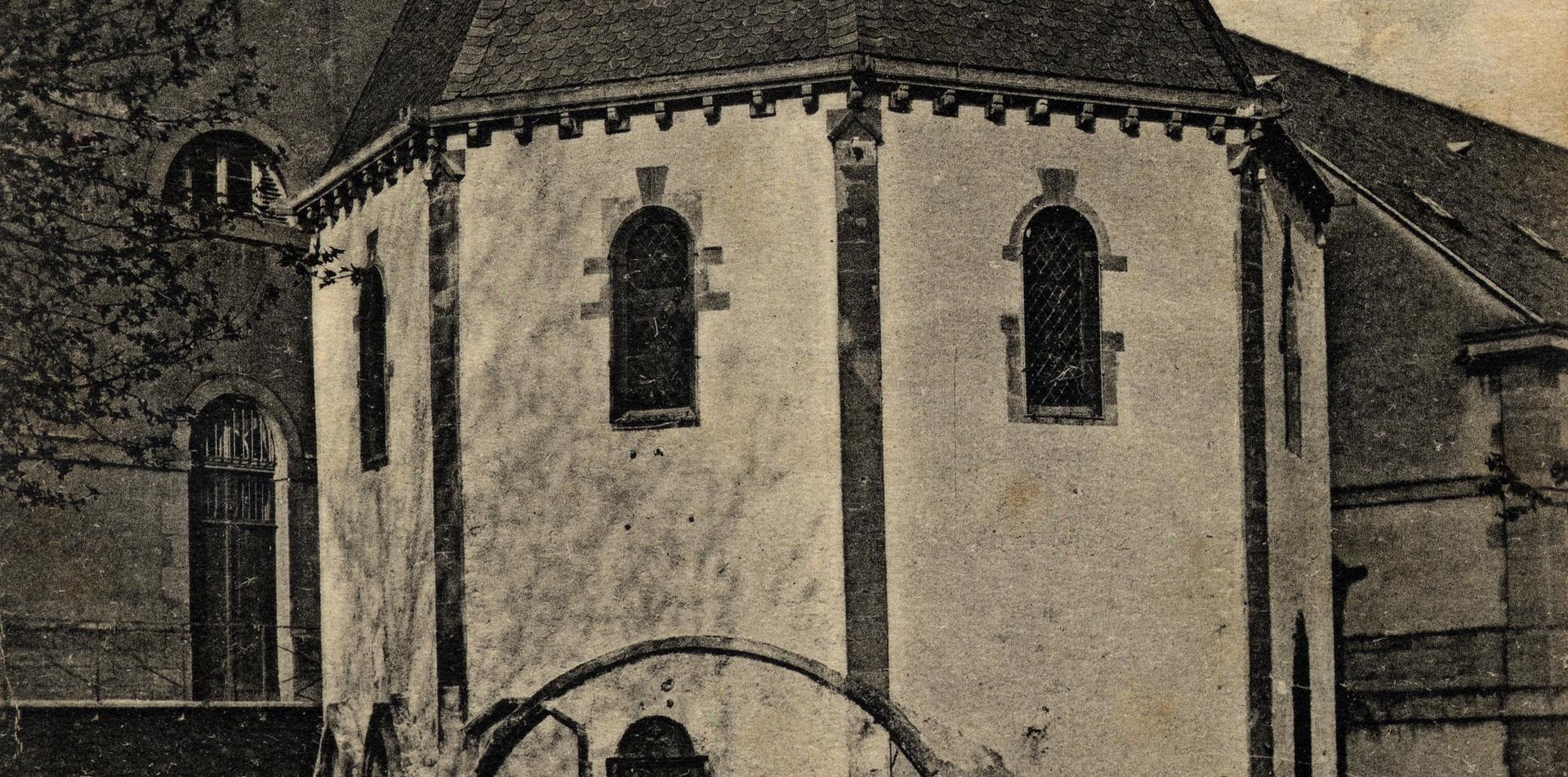 Contenu du La chapelle des Templiers de Metz