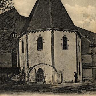 La chapelle des Templiers de Metz
