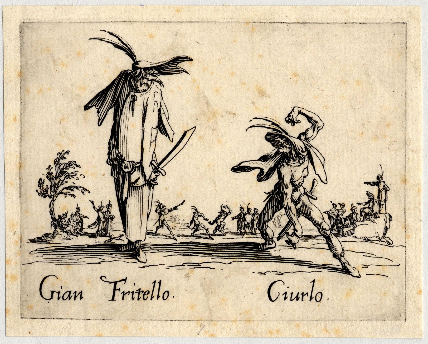 Contenu du Balli di Sfessania : Gian Fritello, Ciurlo