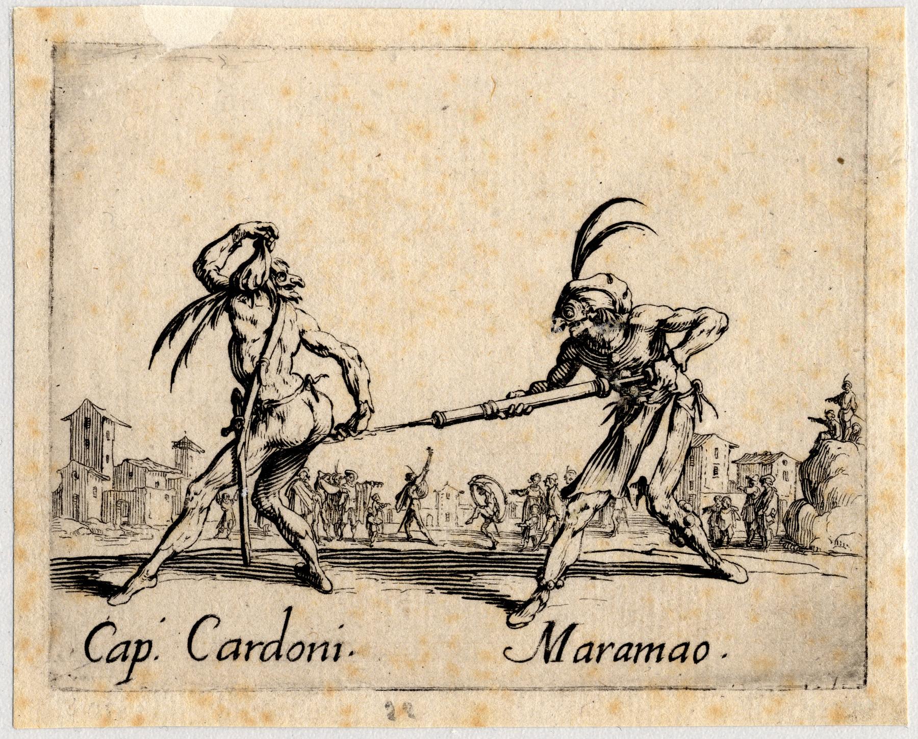 Contenu du Balli di Sfessania : Capitaine Cardoni, Maramao