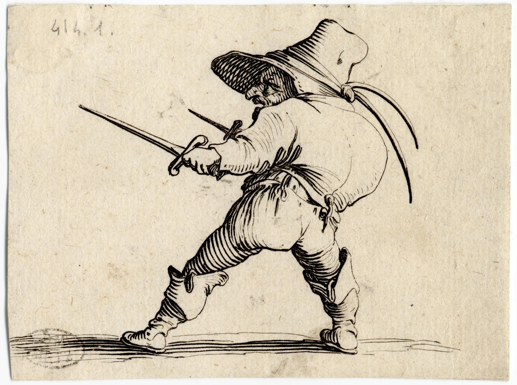Contenu du Les Gobbi: Le duelliste à l'épée et au poignard