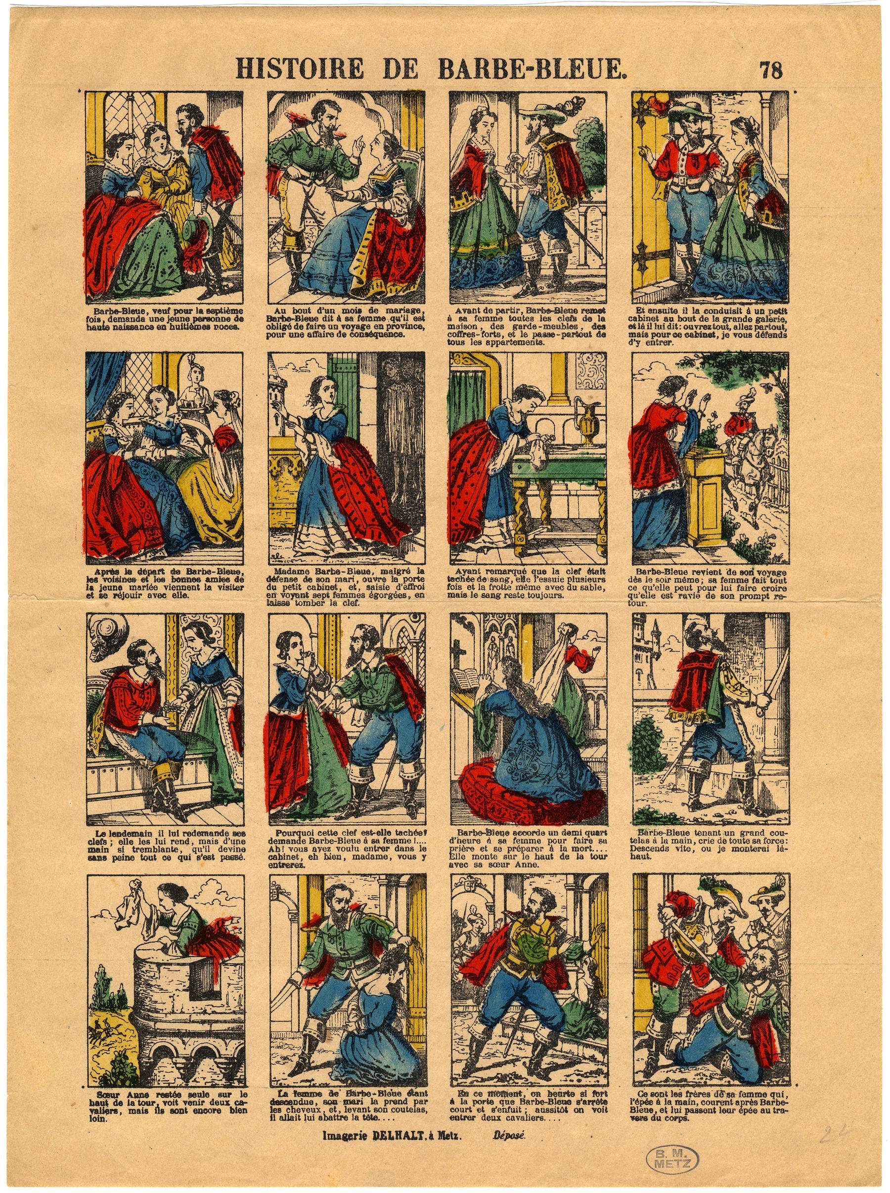 Contenu du Histoire de Barbe-Bleue