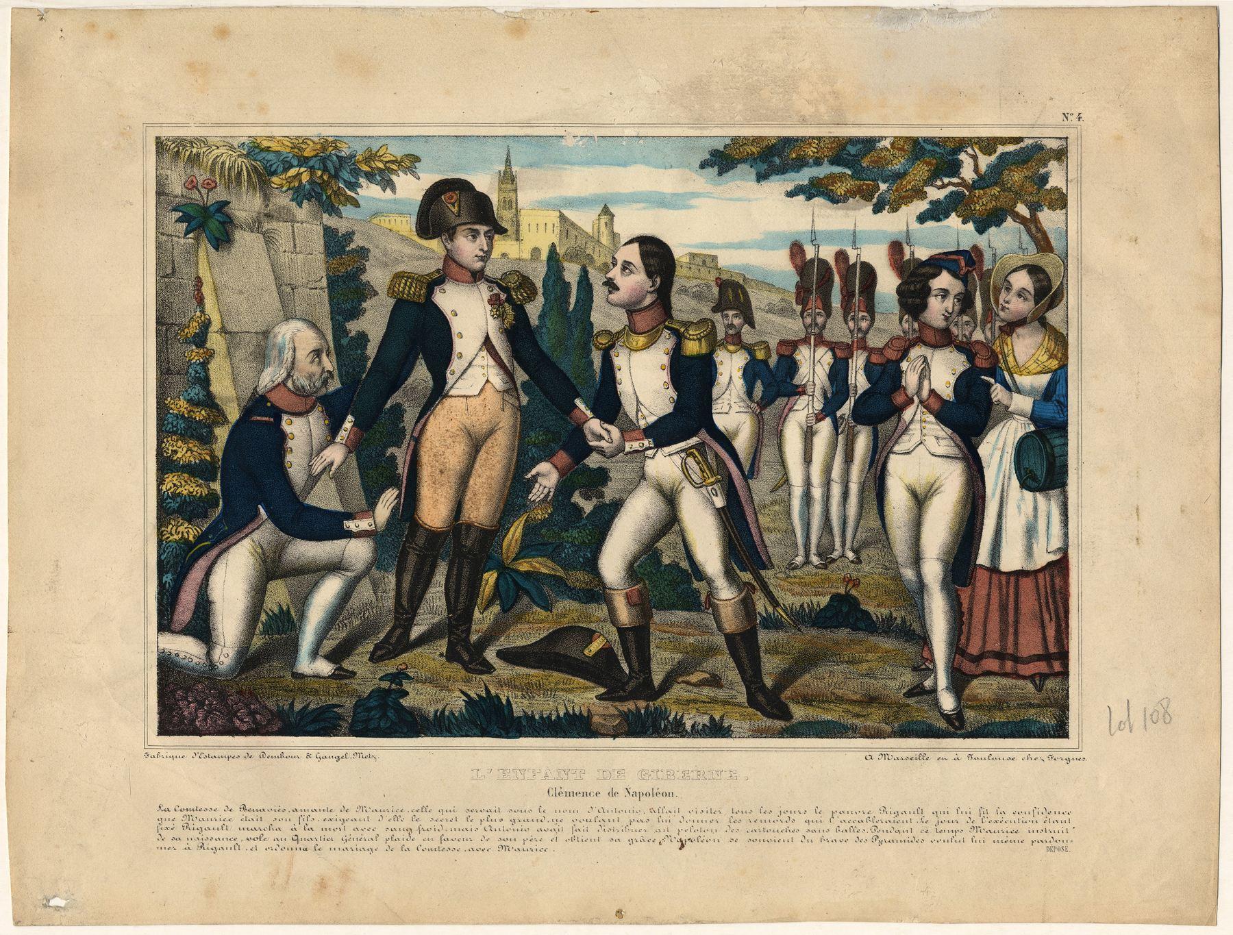 Contenu du L'Enfant de Giberne : Clémence de Napoléon