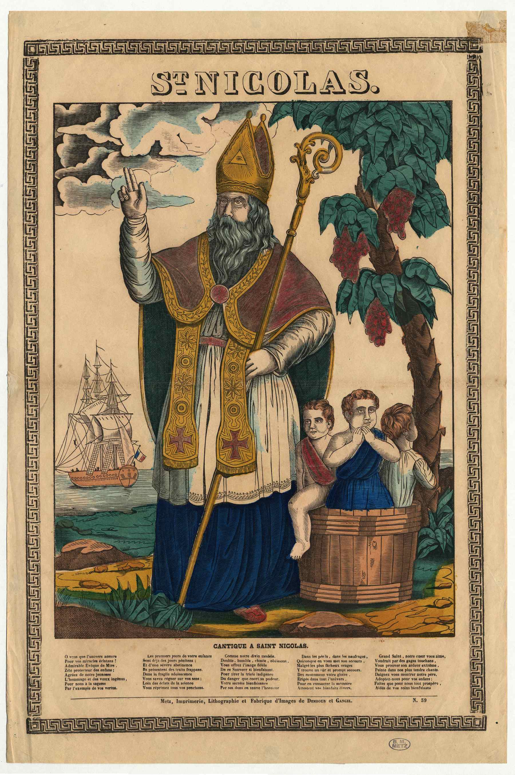 Contenu du Saint Nicolas
