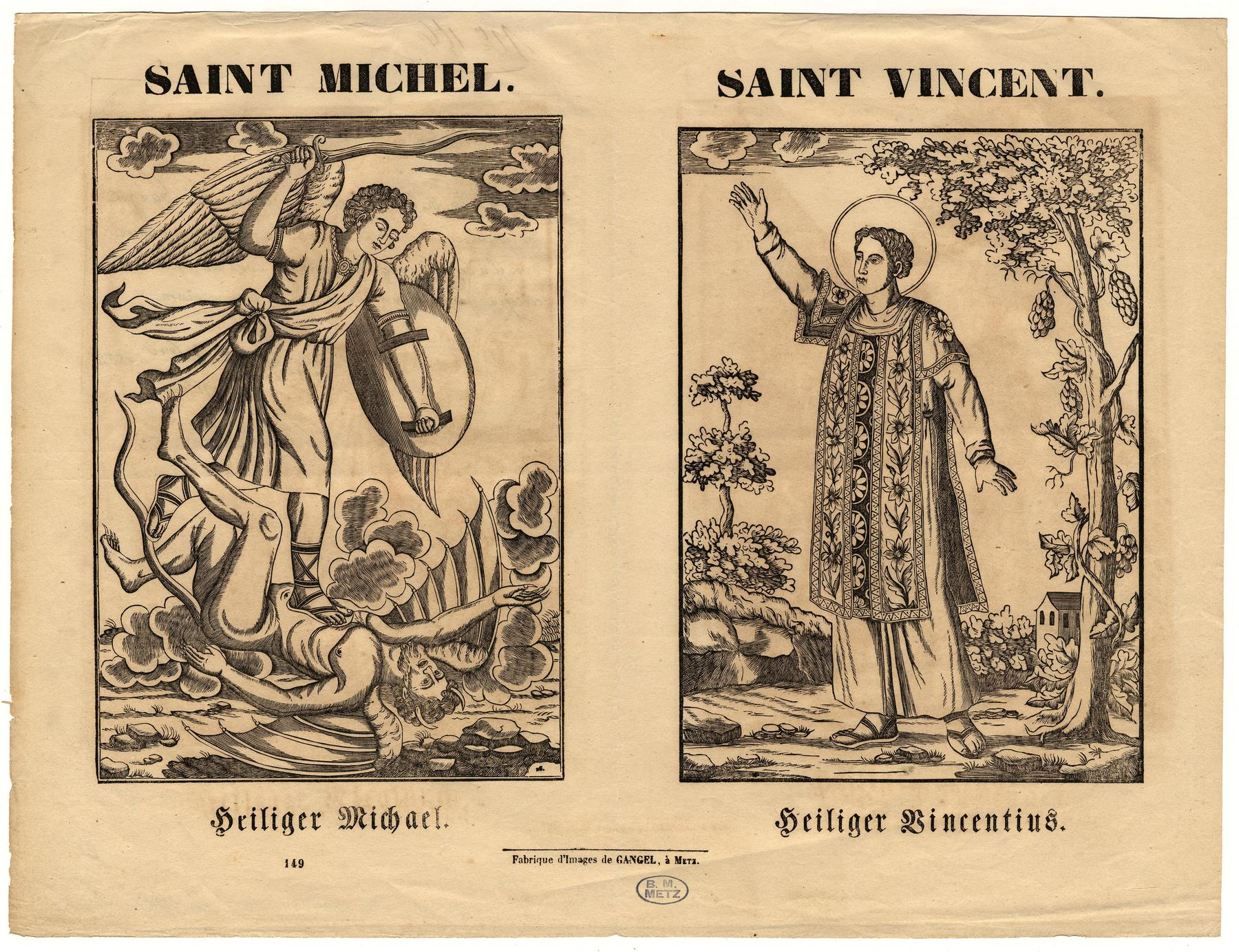 Contenu du Saint Michel terrassant le dragon
