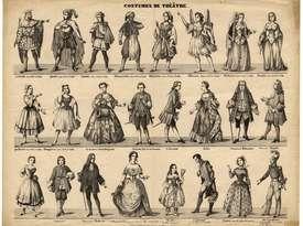 Contenu du Le costume de théâtre