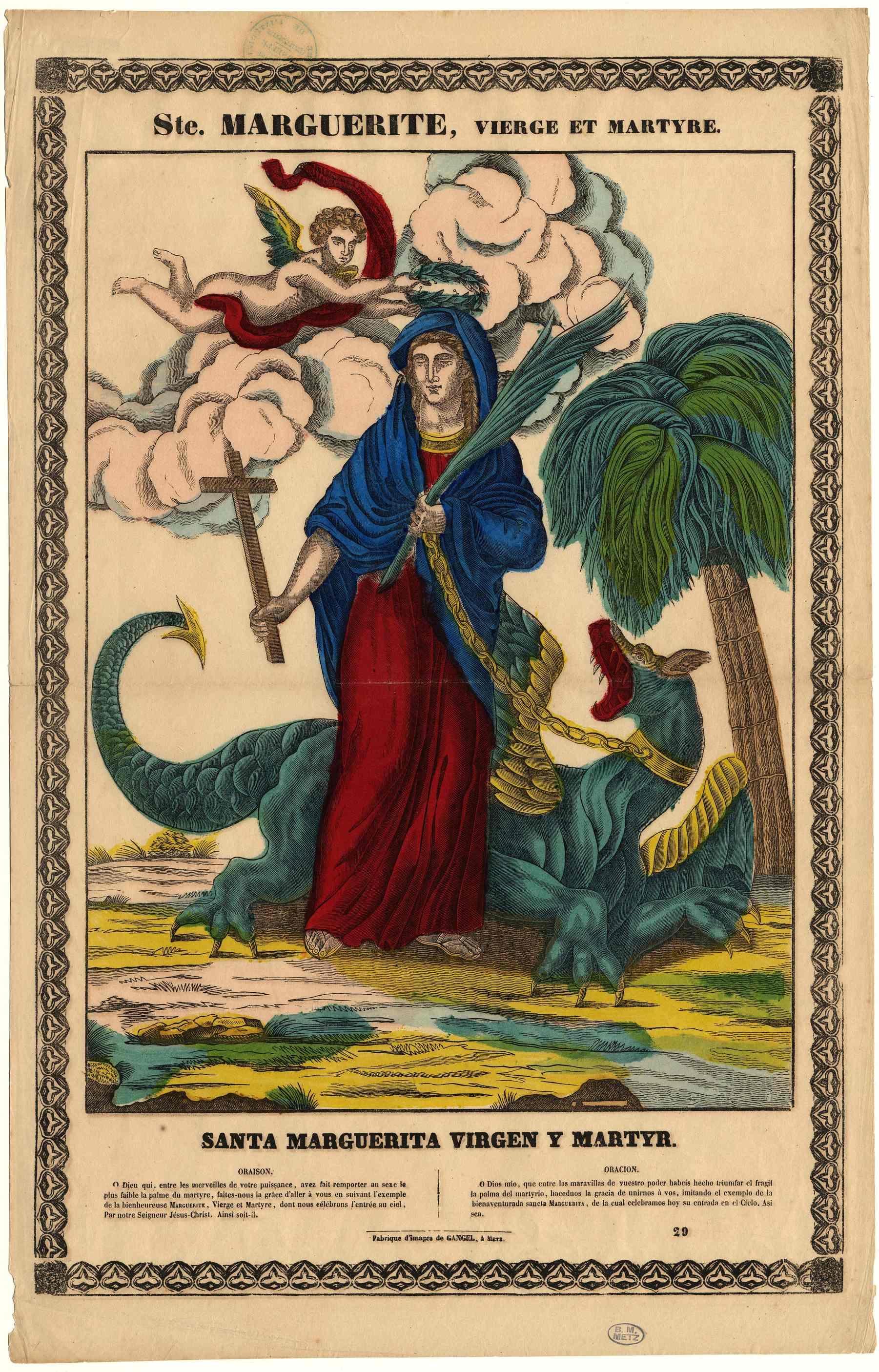Contenu du Sainte Marguerite et son dragon