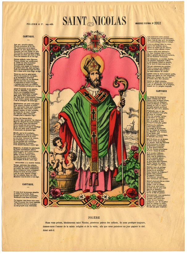 Contenu du Saint Nicolas, le patron des Lorrains