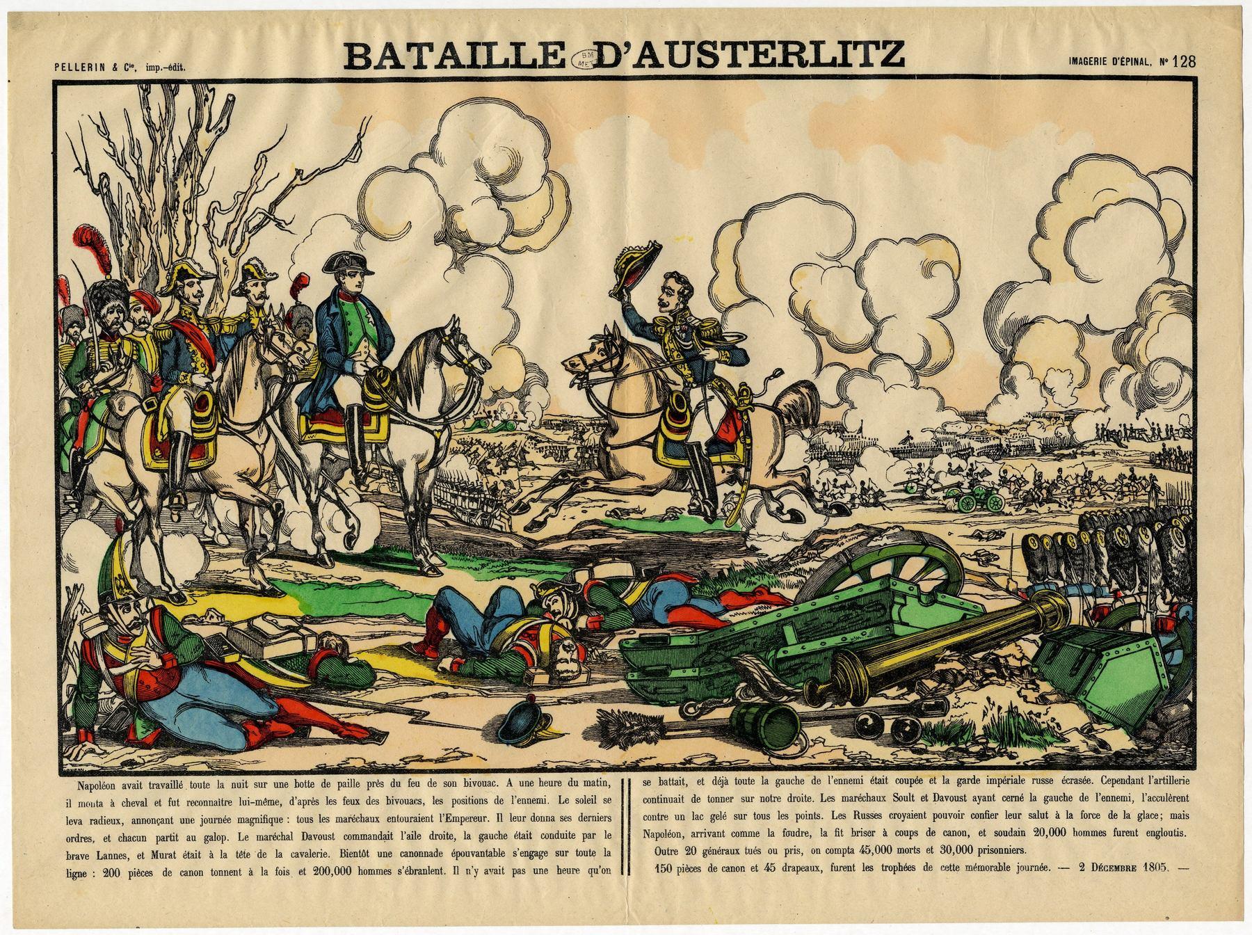 Contenu du Bataille d'Austerlitz
