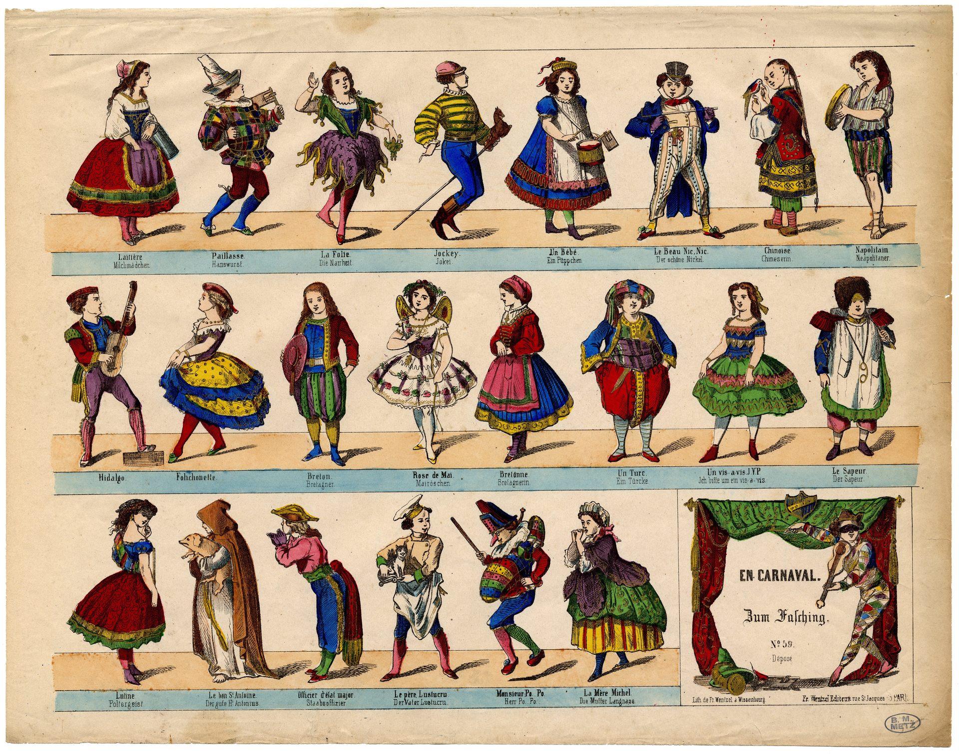 Contenu du Carnaval lorrain