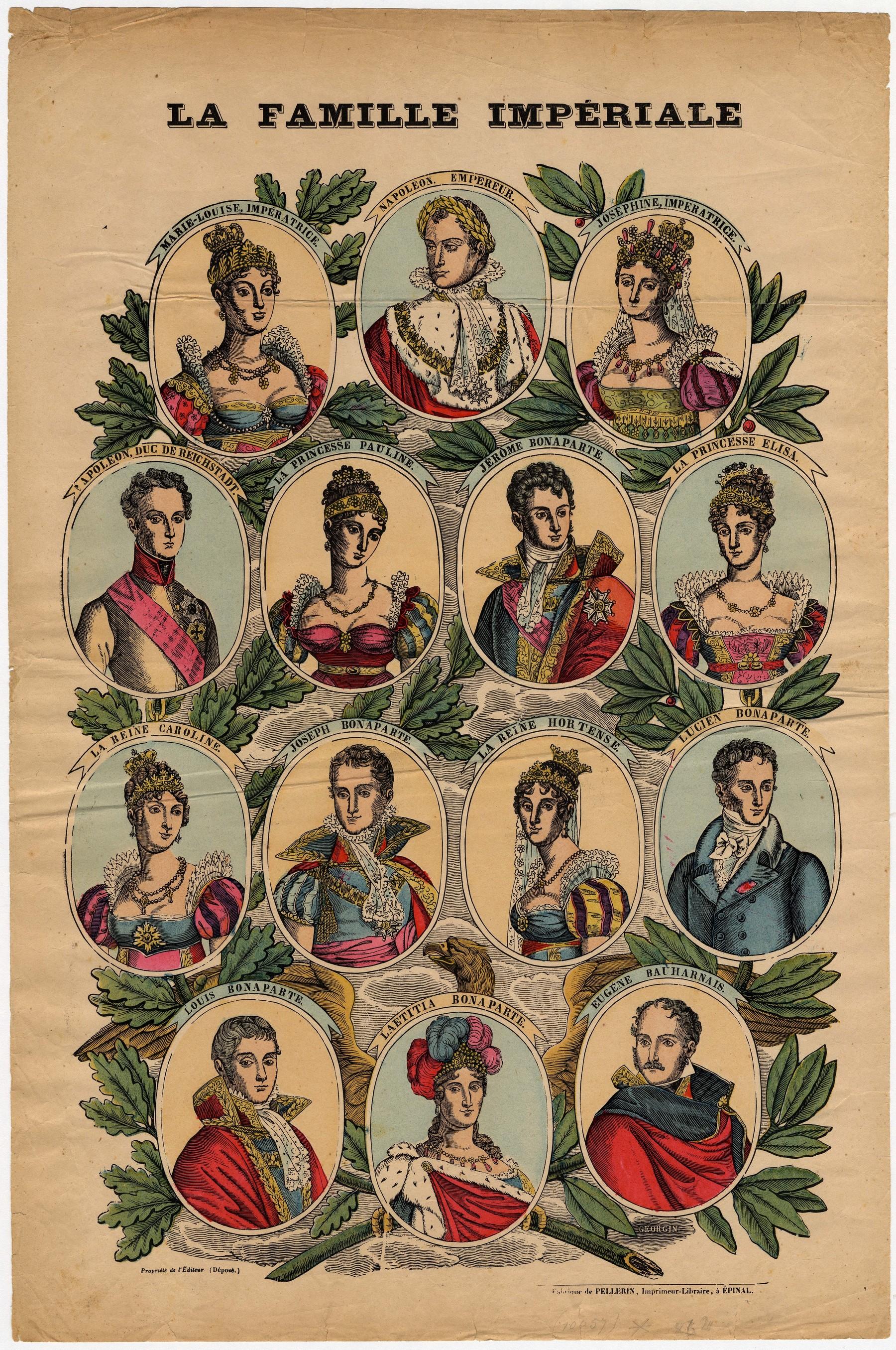 Contenu du La Famille Impériale