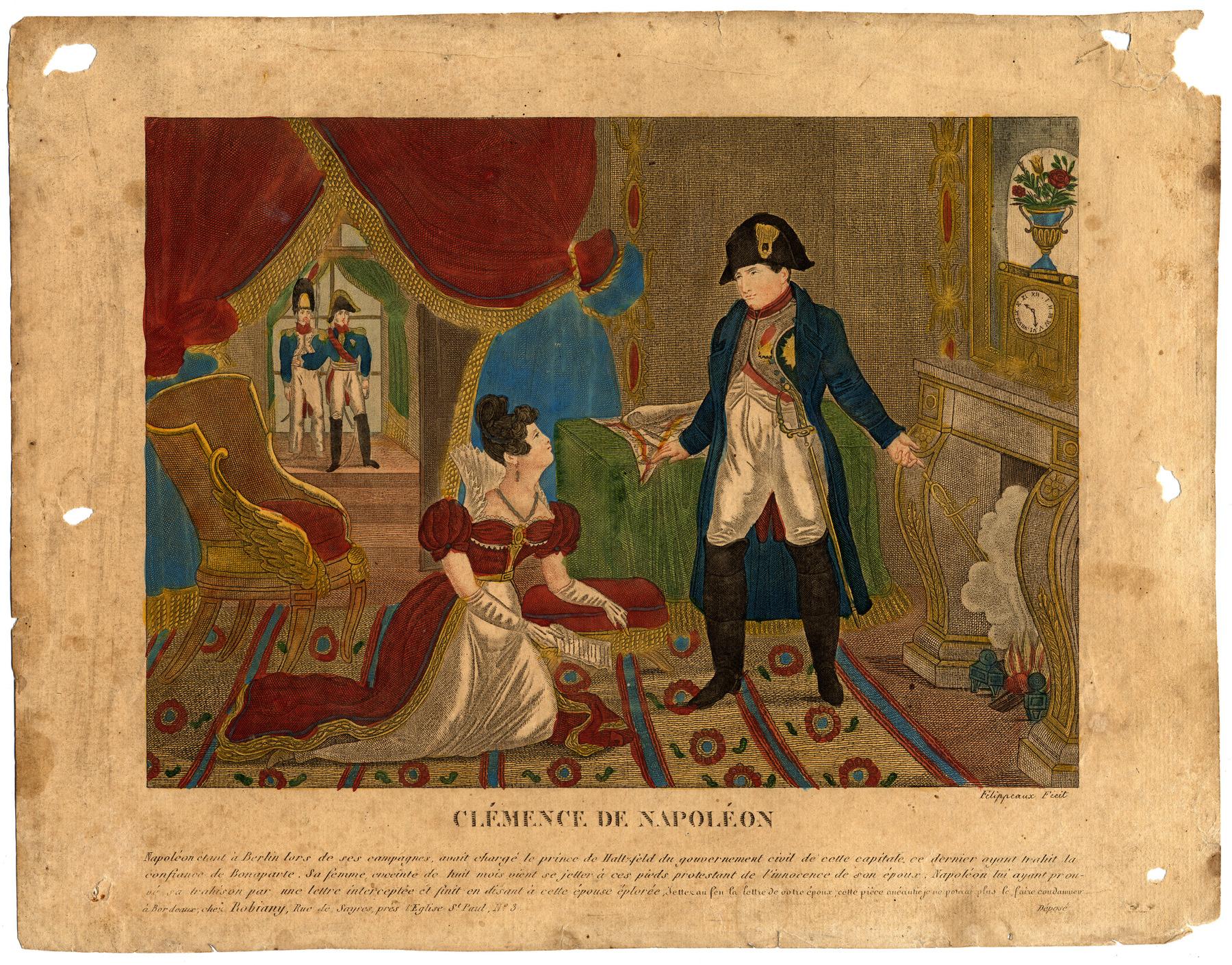 Contenu du Clémence de Napoléon