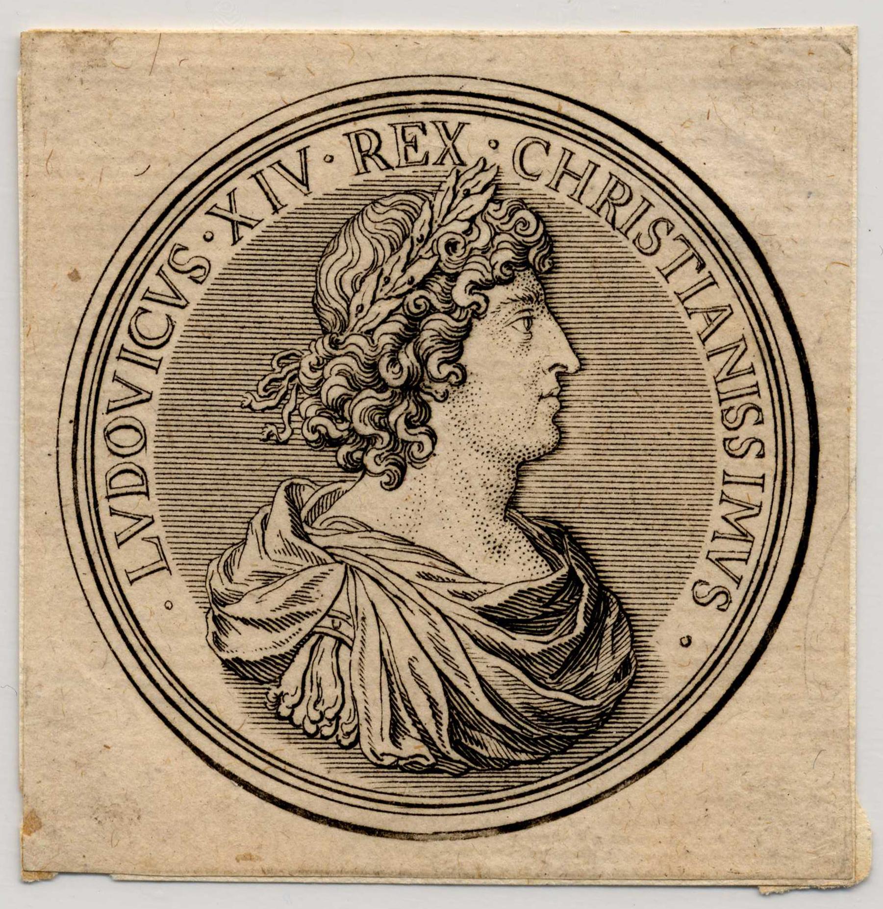 Contenu du Médaille représentant Louis XIV